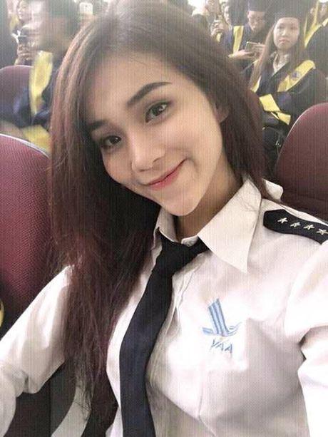 Nhan sac hot girl HV Hang khong Viet Nam gay thuong nho - Anh 1