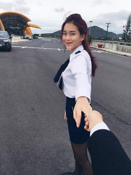 Nhan sac hot girl HV Hang khong Viet Nam gay thuong nho - Anh 2