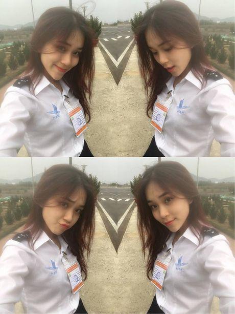 Nhan sac hot girl HV Hang khong Viet Nam gay thuong nho - Anh 3