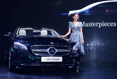 Ngam dan xe sang Mercedes tai VIMS 2016 - Anh 3