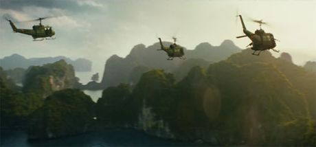 Truc thang bay qua vinh Ha Long trong trailer Kong: Skull Island - Anh 1