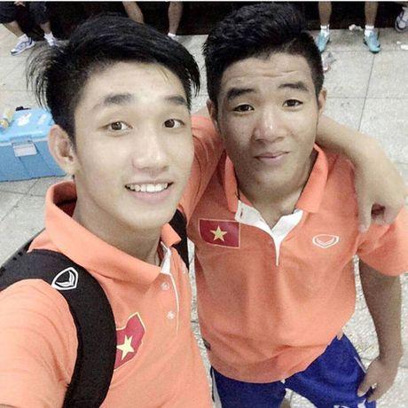 Tuyen thu U.19 Viet Nam Nguyen Trong Dai: 'Ngoai bong da em con dam me ca nhac' - Anh 1