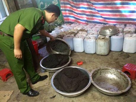 Ha Tinh: Xu ly co so san xuat thuoc dong y khong phep - Anh 1