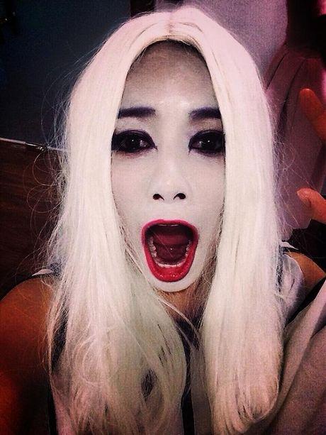Hoang truoc hinh anh sao Viet mua Halloween - Anh 9