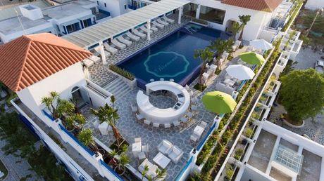 An tuong resort sang trong kieu Santorini dau tien tai Da Nang - Anh 1