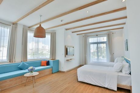 An tuong resort sang trong kieu Santorini dau tien tai Da Nang - Anh 6