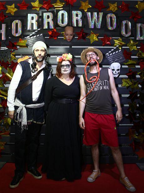 Dem Halloween phong cach Hollywood cua SV thoi trang - Anh 4