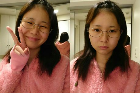 Co gai Nhat thay da doi thit nho ky nang makeup 'than thanh' - Anh 3