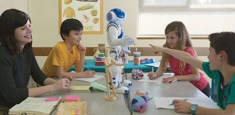 Giao duc se ra sao khi robot thay the con nguoi voi tri tue nhan tao? - Anh 1