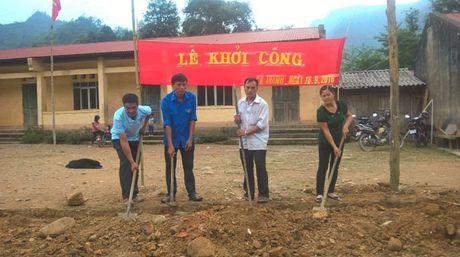 Lop hoc moi khang trang tai diem truong Noc Xoa (Cao Bang) - Anh 2