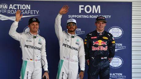 F1, phan hang Mexican GP: Tuyet voi Hamilton, that vong Ferrari - Anh 1