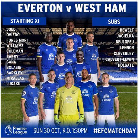 Chi tiet Everton - West Ham: Hiep 2 tung bung (KT) - Anh 10