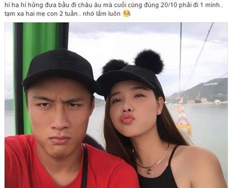 Cach doi xu trai nguoc cua Mac Hong Quan khi Ky Han va Ly Kute cung mang thai - Anh 1