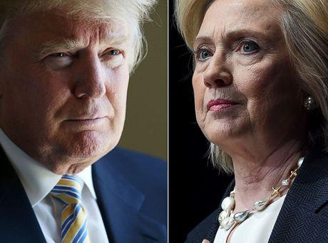 Bau cu My: Ong Trump gan duoi kip ba Clinton - Anh 1