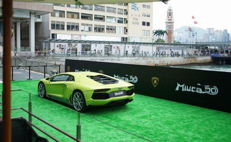 Lamborghini Aventador Miura Homage dau tien 'ha canh' o Hong Kong - Anh 10