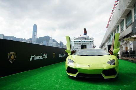 Lamborghini Aventador Miura Homage dau tien 'ha canh' o Hong Kong - Anh 11