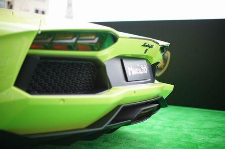 Lamborghini Aventador Miura Homage dau tien 'ha canh' o Hong Kong - Anh 12