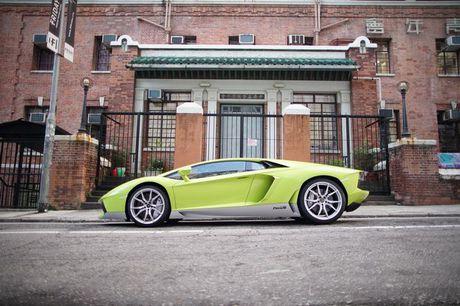 Lamborghini Aventador Miura Homage dau tien 'ha canh' o Hong Kong - Anh 13