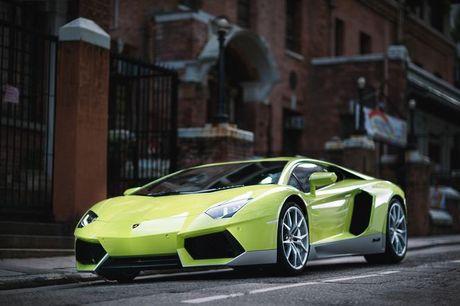Lamborghini Aventador Miura Homage dau tien 'ha canh' o Hong Kong - Anh 5