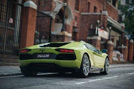 Lamborghini Aventador Miura Homage dau tien 'ha canh' o Hong Kong - Anh 6