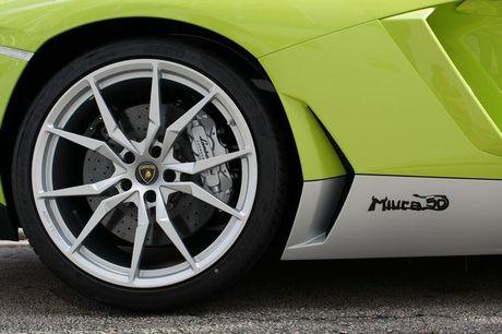 Lamborghini Aventador Miura Homage dau tien 'ha canh' o Hong Kong - Anh 7