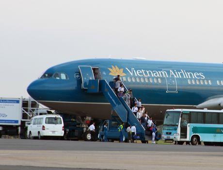 Khong lien quan den Vietnam Airlines trong vu 34 hanh khach Nhat bi ngo doc - Anh 1