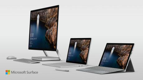 Microsoft ra mat Surface Studio - doi thu cua iMac 5K - Anh 1