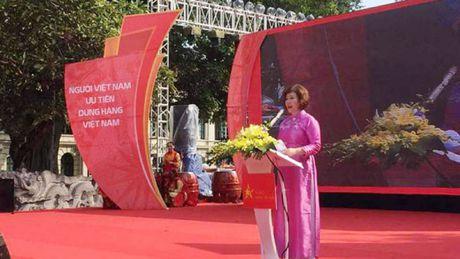 Khai mac chuong trinh nhan dien hang Viet Nam - Tu hao hang Viet 2016 - Anh 1