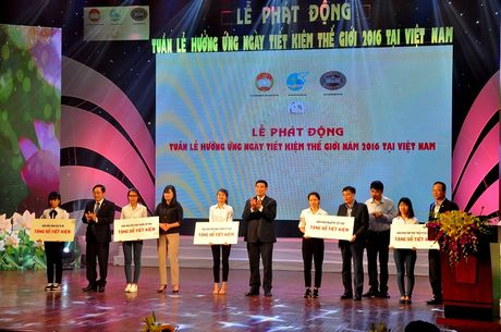Le phat dong Tuan le huong ung ngay Tiet kiem the gioi nam 2016 tai Viet Nam - Anh 2