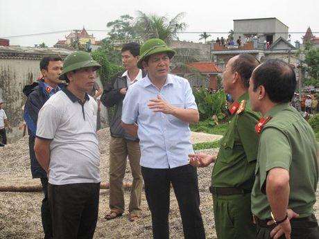 Vu no o Thai Binh: Co the do noi hoi bi can nuoc lam tang ap suat - Anh 3