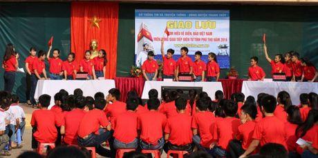 Khoi day tinh yeu bien, dao que huong trong the he tre Phu Tho - Anh 2