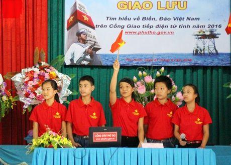 Khoi day tinh yeu bien, dao que huong trong the he tre Phu Tho - Anh 3