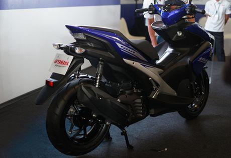 'Ven man' Yamaha NVX - phan khuc 'chieu tren' Honda Air Blade - Anh 2