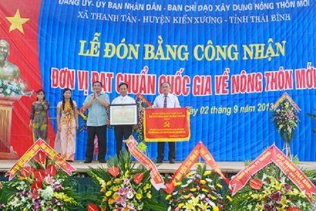 Ghi nhan ve phong trao xay dung nong thon moi o que lua Thai Binh - Anh 2