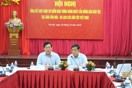 Mot nam hoat dong cua dong bao dan toc tai Lang Van hoa-Du lich cac dan toc Viet Nam - Anh 1