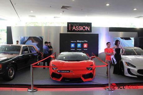 3 sieu xe gay 'choang' o gian hang phu kien Passion-drive - Anh 2