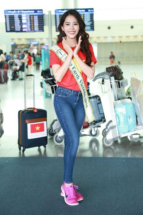 Hanh trinh lot top 8 cua Nam Em tai Hoa hau Trai dat - Anh 1