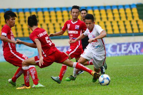Khanh Hoa danh bai HAGL o ban ket giai U21 quoc gia - Anh 1