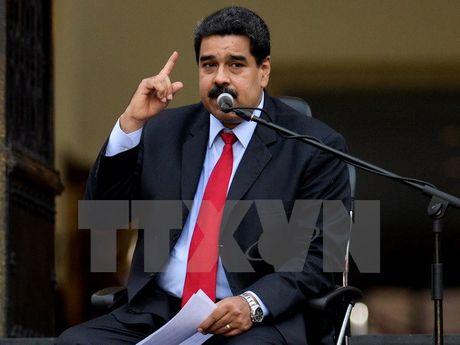 Chinh phu Venezuela va phe doi lap bat dau doi thoai chinh tri - Anh 1