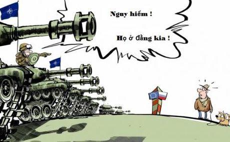 NATO noi gian, nhan nham Ukraine la thanh vien - Anh 1