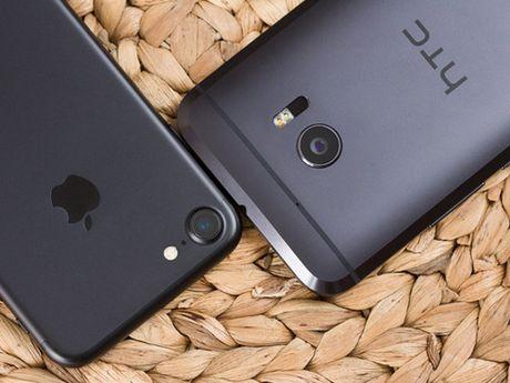 Do anh chup giua iPhone 7 va HTC 10 - Anh 1