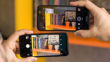 Do anh chup giua iPhone 7 va HTC 10 - Anh 2