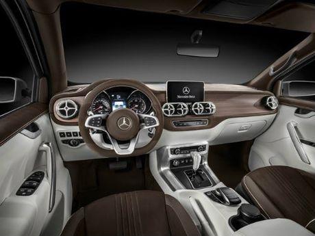 Mercedes-Benz X-Class ro ri, khien vua ban tai F-150 so - Anh 5