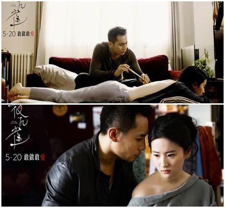 Soc voi nhung canh phim 'hu nhat' cua Luu Diec Phi - Anh 3