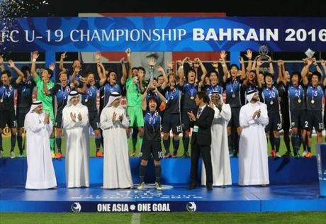 Clip U19 Nhat Ban 5-3 U19 Saudi Arabia chung ket giai U19 chau A - Anh 1