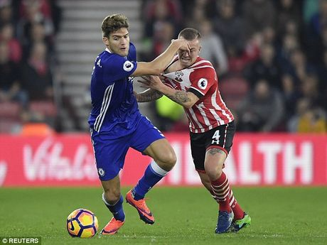 Cham diem Southampton 0-2 Chelsea: Antonio Conte sang nhat - Anh 6