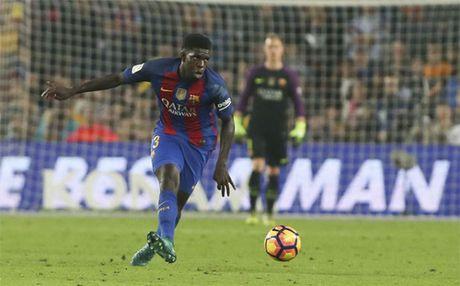 Samuel Umtiti lap ky luc dau tien o La Liga - Anh 1