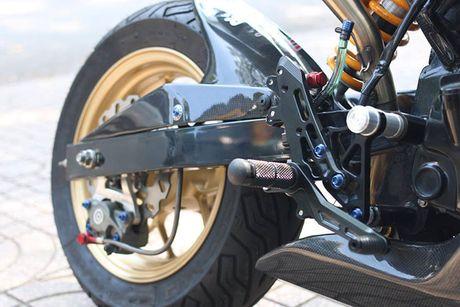 Honda MSX 125 'bien hinh' sieu moto tien ty tai Sai Gon - Anh 7