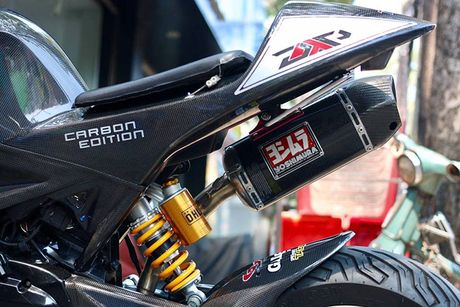 Honda MSX 125 'bien hinh' sieu moto tien ty tai Sai Gon - Anh 8