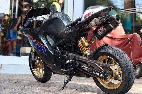 Honda MSX 125 'bien hinh' sieu moto tien ty tai Sai Gon - Anh 9